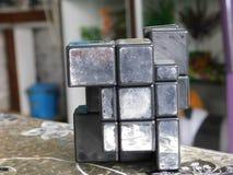 Mirrorcube stock foto
