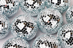Mirrored balls Royalty Free Stock Images