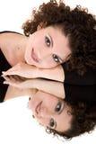 Mirrored beauty Stock Photo