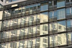 Mirrored Building Royalty Free Stock Photos