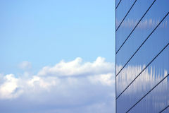 Mirrored Business Building Stock Images
