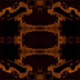 Mirrored  dark sky Stock Images