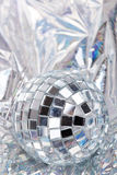 Mirrored disco ball Royalty Free Stock Image