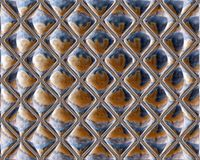 Mirrored Glass Seamless Repeating Tile Pattern Stock Photography
