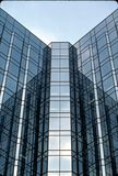 Mirrored Office Building. Office building in Ottawa, Ontario Stock Image