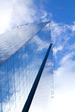 Mirrored skyscraper Stock Photography