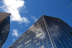 Mirrored skyscraper Royalty Free Stock Photography