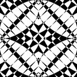 Mirrored symmetrical pattern. Geometric monochrome background. T. Essellating, mosaic texture with high contrast. - Royalty free vector illustration Royalty Free Stock Image