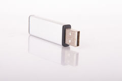 Mirrored USB Stick Royalty Free Stock Photos