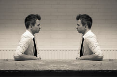 Free Mirroring In Communication Royalty Free Stock Photo - 35333835