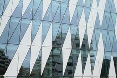 Mirroring modern office building Stock Photo
