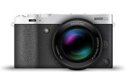 Mirrorless compact camera Stock Photography