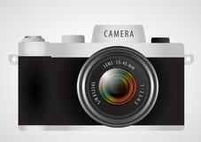Mirrorless interchangeable lens digital photo camera Stock Photos