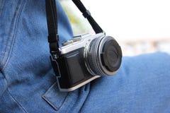 Mirrorless kamera Arkivbild