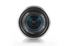 Mirrorless kamery obiektyw obraz stock