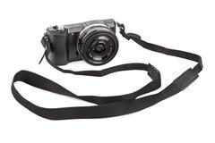 Mirrorless photo camera Royalty Free Stock Photo