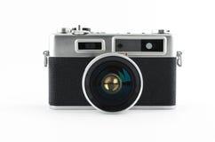 Mirrorless retro kamera royaltyfria bilder