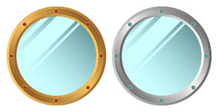 Mirrors. Royalty Free Stock Photography