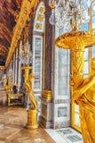 MirrorsGalerie des凡尔赛的霍尔 库存图片