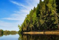 mirrow河 库存图片