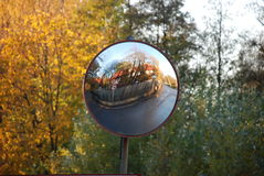 Mirrow de route Photos libres de droits