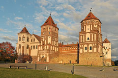 Mirsky Castle Complex. Autumn. Royalty Free Stock Photos