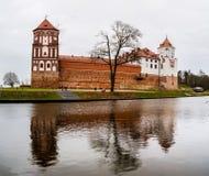 Mirsky Castle Complex in Belarus Stock Images