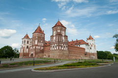 The Mirsky Castle Complex is a UNESCO World Heritage site in Bel Stock Image
