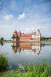 The Mirsky Castle Complex is a UNESCO World Heritage site in Bel Royalty Free Stock Photos