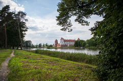 The Mirsky Castle Complex is a UNESCO World Heritage site in Bel Stock Photo