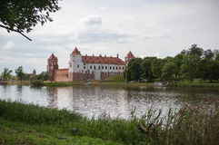 The Mirsky Castle Complex is a UNESCO World Heritage site in Bel Stock Photography