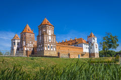 Mirsky castle Royalty Free Stock Images