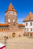 Mirsky castle Royalty Free Stock Photo