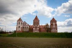 Mirsky Zamok στην περιοχή Hrodno στη Λευκορωσία στοκ εικόνα