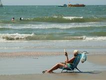 Mirt plaża obrazy stock