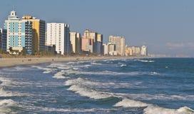 Mirt Plaża, Południowa Karolina Fotografia Stock