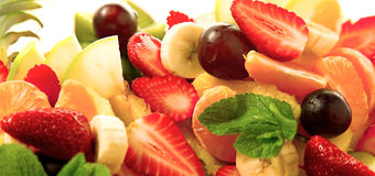 Mirtillo dell'assortimento della frutta Fotografia Stock