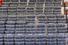 Mirtilos empilhados Foto de Stock