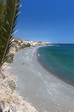 Mirtos beach at Crete island in Greece Stock Photography