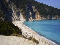 Mirtos beach Royalty Free Stock Photo