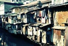 Misère noire urbaine Photos stock