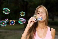 Mis burbujas libres. Imagen de archivo