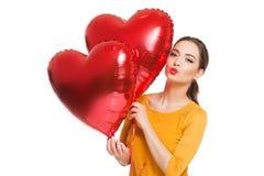 Mis corazones flotantes Foto de archivo libre de regalías