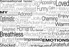 Mis emociones Imagenes de archivo