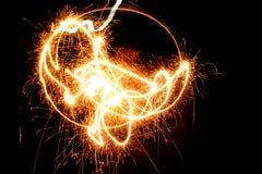 Mis fuegos artificiales Fotografía de archivo libre de regalías
