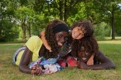 Mis hermanas de la adopción Imagenes de archivo