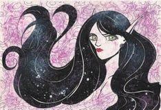 Mis ilustraciones - duendes 001 Imagen de archivo