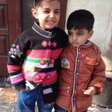 Mis niños Foto de archivo libre de regalías