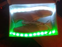 Mis nuevos zapatos Imágenes de archivo libres de regalías