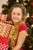 Mis regalos de Navidad Imagen de archivo